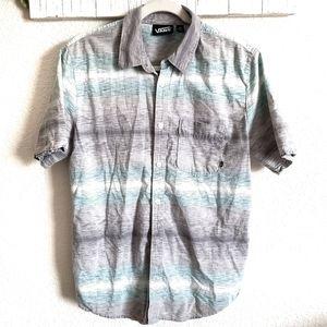 Vans Button Down Short Sleeve Shirt Medium
